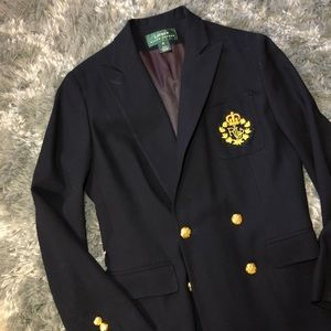 VTG Ralph Lauren Military Inspired Blazer